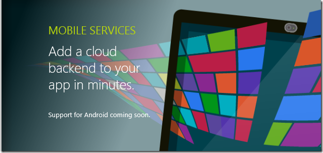 WindowsAzureMobileServices