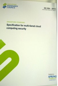 Standard for Multi-tiered cloud computing security